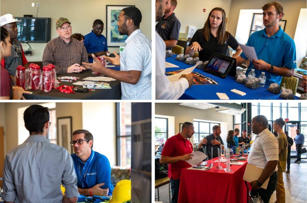Job Fair Photo Collage