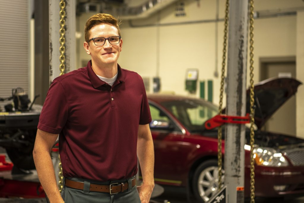 Chattahoochee Tech welcomes Devon Parks, of Pickens County, as a new instructor in the college's Automotive Collision Repair program at the Appalachian Campus.