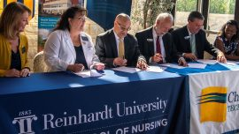 Chattahoochee Tech Collaborates with Reinhardt University to Benefit Nursing Students
