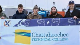 Chattahoochee Tech Welding Students Travel to Savannah for Welding Competition