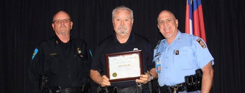 Campus Police Officer Honored in Jasper as Public Safety Officer of the Year