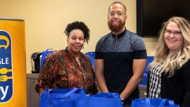Chattahoochee Tech Gives Thanksgiving Food to Families in Need to Launch Campus Food Pantry