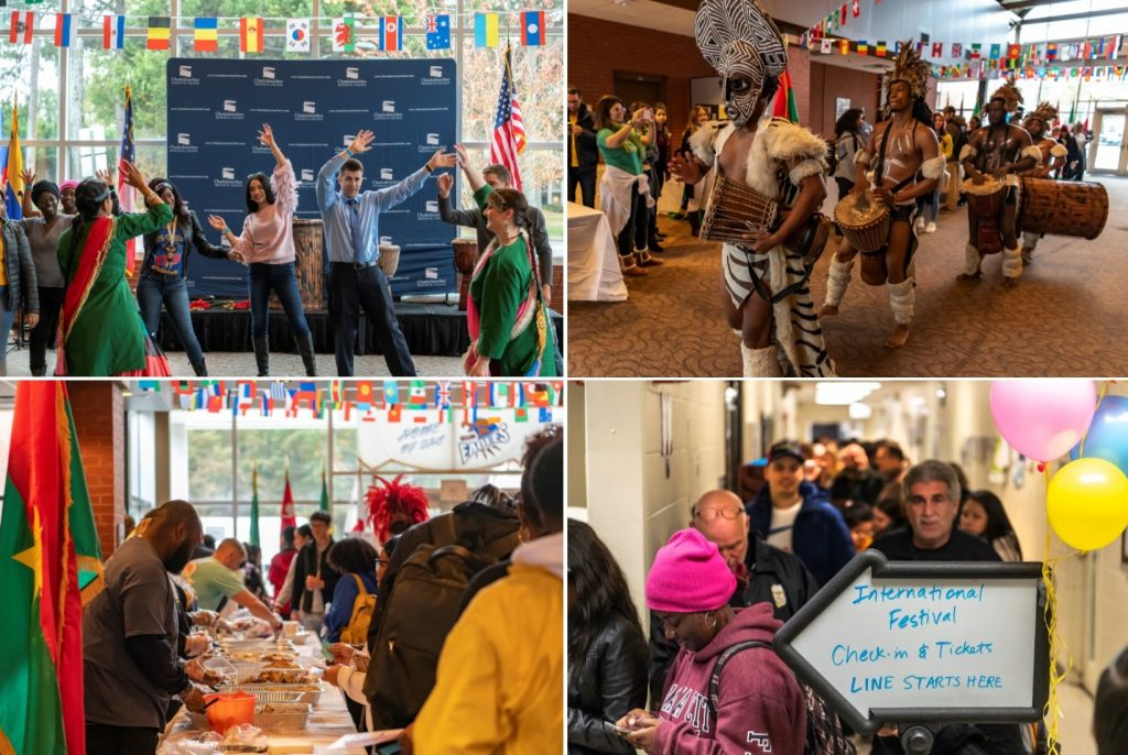 International Festival Photo Collage