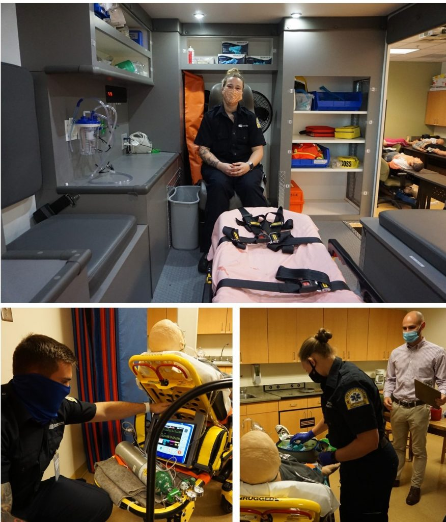 Emergency medical services (EMS) relies on skilled medical providers like the ones being trained at CTC.