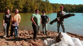Chattahoochee Tech Students Volunteer at Great Lake Allatoona Clean Up