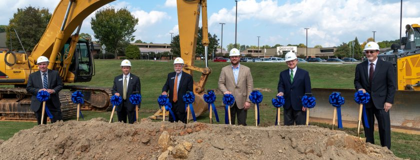 Center for Advanced Manufacturing and Emerging Technologies Groundbreaking Ceremony Held at North Metro Campus