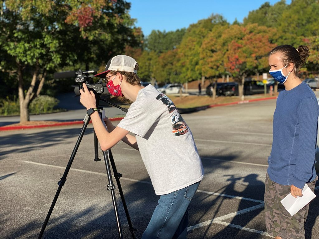 Students in the Chattahoochee Tech Film and Video Production program gain hands-on skills to become technically sound professionals.