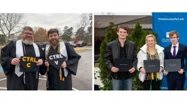 All in the Family: Chattahoochee Tech Parents and Children Complete College Together