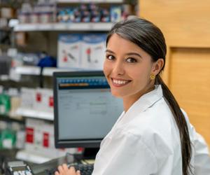 Smiling Nurse Woman