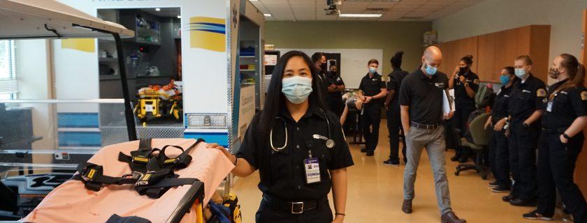 EMT student